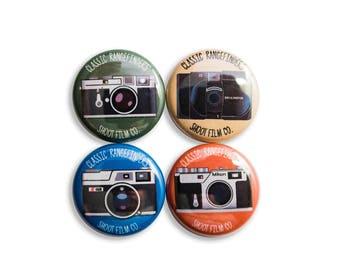 "Classic Rangefinders 1"" Button Set"