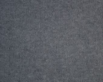Free Shipping - Dark Gray Cotton Double Knit- Made in Japan