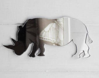 Rhinoceros Acrylic Mirror