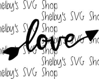 Love Arrows - SVG
