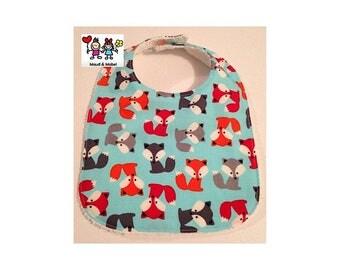 MAUD & MABEL - Handmade Baby Bib - Foxes
