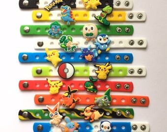 Ultimate Poke Monsters Charm Bracelets PARTY FAVORS