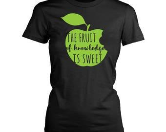 Fruit womens fit T-Shirt. Funny Fruit shirt.