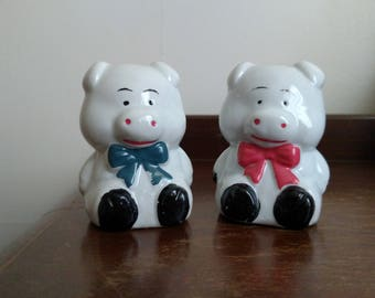 Pig Salt & Pepper Shakers