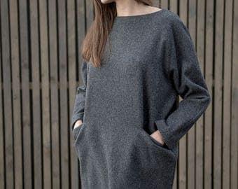 Woolen Dress Motumo 17FW5