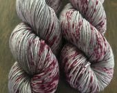40 Whacks- Hand Dyed Superwash Merino Nomad Sock Fingering Yarn
