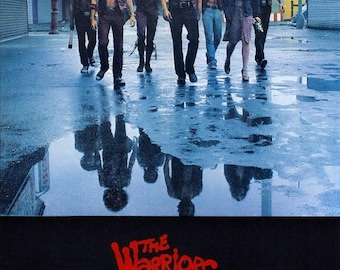 Summer Sale THE WARRIORS Movie Poster 1979 Cult Film NYC