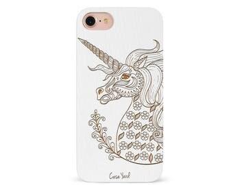iPhone 8 Plus Case, iPhone 8 Case, iPhone X Case, iPhone 7 Plus Case, iPhone 7 Case, Samsung S8 Plus Case, Wood Phone Case, Unicorn
