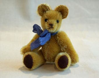 Delightful Miniature Mohair Teddy Bear