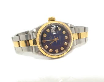 Ladies Two-Tone Rolex 69173 with Diamond Dial  FREE SHIPPING!!!