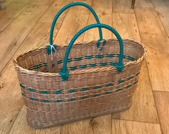 Vintage Shopping Basket