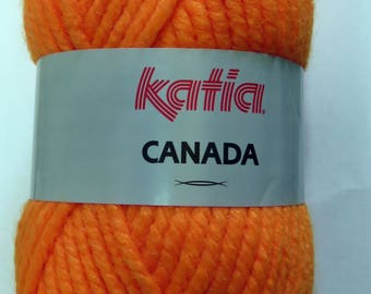 Wool Katia Canada orange