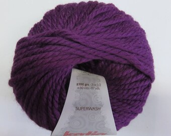 Katia Big purple Merino Wool.