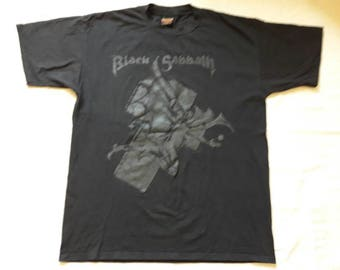 Vintage Rare 1990s Black Sabbath Tour T Shirt. 1994 Concert Brockum Mens