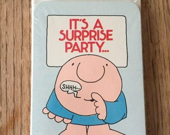 Ziggy Surprise Party Invitations