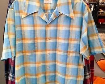 Vintage 1960's Men's Shirt