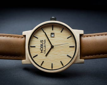 Maple Wood Watch - Möbius Timepiece