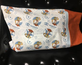 Toy Story Woody Travel Pillowcase