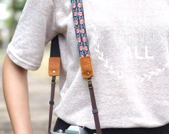 Little Flower - Camera Strap