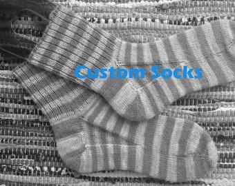 Custom Socks for Kayla Pt 1