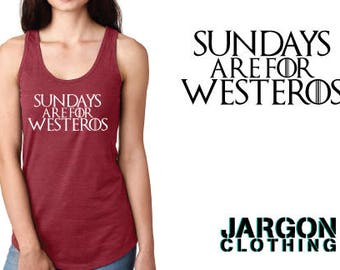 Sundays Are For Westeros