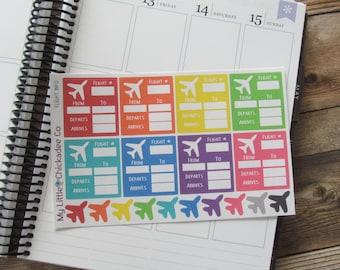 FN15 - Flight Info Planner Sticker