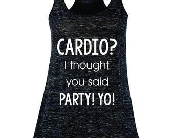 Running Tank. Workout Tank. Gym Tank. Cardio Tank. Party Tank.