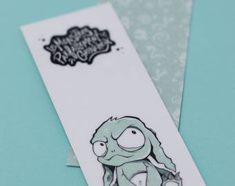 Bookmark - 1 Turquoise Monster
