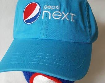 Vtg Pepsi Next dad hat Generation X soda pop cola