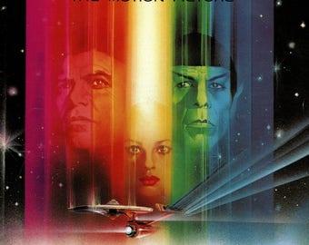 Star Trek The Motion Picture - 1979  movie program