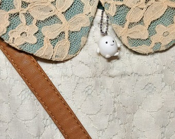 Adipose charm necklace/ Doctor Who Adipose charm necklace
