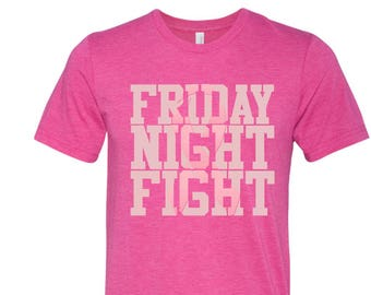 Breast Cancer Shirt - Pink Out Game Shirt - Breast Cancer Fundraiser - Friday Night Lights Shirt - Pink Out Tee -