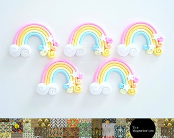 Rainbow Fridge Magnet Set