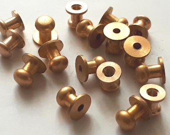 10 pcs 8 mm  raw brass findings