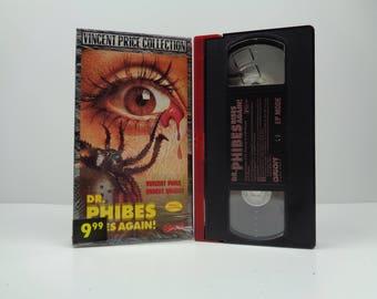 Dr. Phibes Rises Again VHS