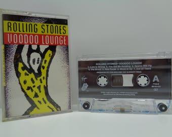 Rolling Stones Voodoo Lounge Cassette
