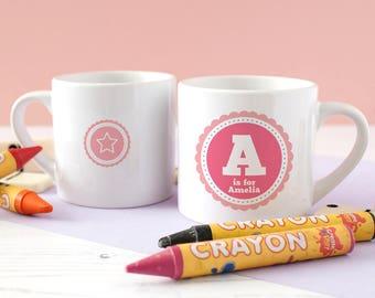 Ceramic Children's Mug - Personalised Children's Mug Gift