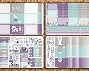 225 Sticker 4 Sheet ASHEVILLE Sampler Kit for 2017 inkWELL Press Planner, Erin Condren IWP-K3