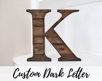 Rustic Home Decor, Rustic Decor, Wood Letter, Wall Letter, Fixer Upper Decor, Farmhouse Decor, Room Decor, Rustic Letter, Country Home Decor