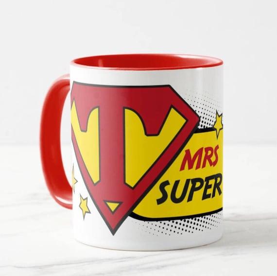 Personalised Super Teacher Mug / End of Term Gift / Teacher Gift