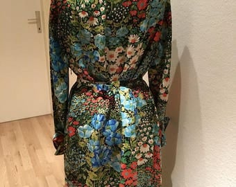 Beautiful floral kilmt dress