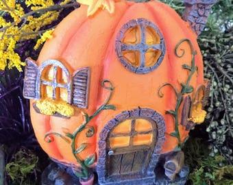 Miniature Pumpkin House