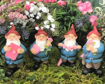 Miniature Love Gnomes - Your choice of 4 designs!