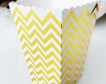 6 popcorn herringbone Creamer gold