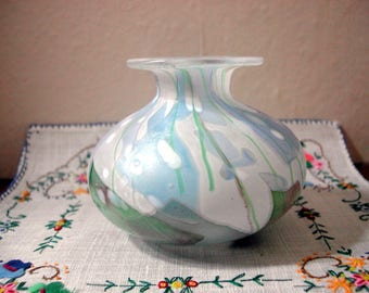 Isle of Wight Paperweight Vase