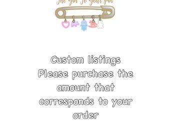 Custom listing orders