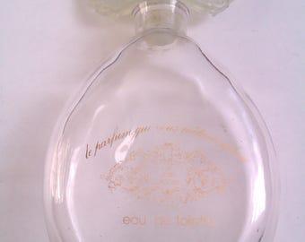 vintage Jean Laporte perfume bottle (empty)