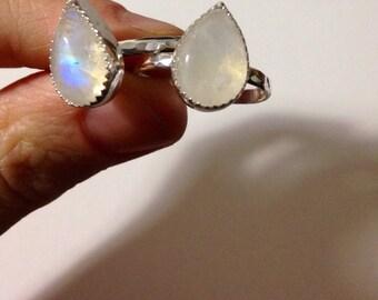 """Moonstone """"Sundara"""" Ring"""
