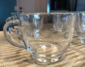 Punch Cups, Federal Glass Company, 6 Cups Total, Item #592178072