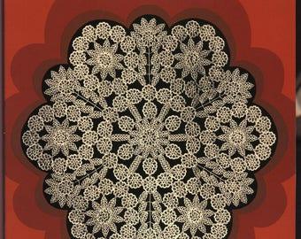 Tatting pattern Tatting lace Doily tatting pattern Tatting book Pdf file
